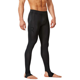 2XU Power Recharge Recovery - Pantalones largos running Hombre - Long negro